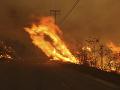 Nový obrovský požiar vypukol v Kalifornii: Ohrozuje aj knižnicu prezidenta Reagana
