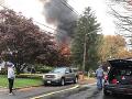 VIDEO Pád malého lietadla spôsobil výbuch a požiar: Pilot nehodu neprežil