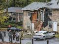 FOTO Tragická nehoda v Atlante, lietadlo narazilo do domu: Dvaja ľudia sú mŕtvi