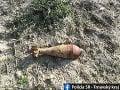 Pyrotechnici zneškodnili v Senici delostreleckú mínu: Pochádzala z druhej svetovej vojny