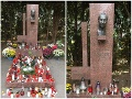Hrob Alexandra Dubčeka sa nachádza na bratislavskom cintoríne v Slávičom údolí.