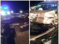 PRÁVE TERAZ Havária dvoch áut na R1 v smere na Nitru: FOTO Úsek je neprejazdný