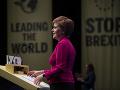 Sturgeonová na zhromaždení v Glasgowe: Nezávislosť Škótska je na dosah