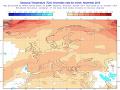 Predpokladané teplotné odchýlky od dlhodobého priemeru v novembri 2019 (obr. 1).