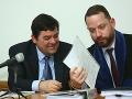 Marian Kočner a jeho právnik Marek Para