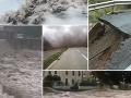 Cez diaľnicu v Srbsku sa prehnalo tornádo: VIDEO Tri deti prišli o starkých, búrky zabíjali aj vo Francúzsku