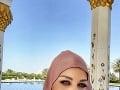Karin Haydu si odskočila oddýchnuť s rodinou do Dubaja.