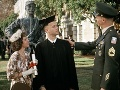 Sally Field s Tomom Hanksom, ktorý stvárnik Forresta Gumpa