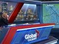 VIDEO Hlásateľ počasia sa stal hitom: Keď moderátorka zbadala, čo má oblečené, šla do kolien