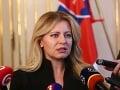 Prezidentka podpísala viaceré zákony: Zmeny v Občianskom zákonníku aj cestnej premávke