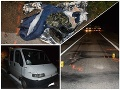 Muža zrazilo nákladné auto: FOTO V tme bol takmer neviditeľný, pozor na rovnakú chybu