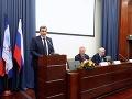 Moskovská univerzita udelila čestný doktorát Andrejovi Dankovi