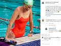 Lenka Vscvalová na fotografii z bazéna odhalila aj stojace bradavky.