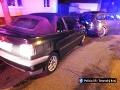 Opitý vodič nabúral zaparkované auto.