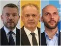 Prichádza nový PRIESKUM: Kiska naďalej rastie, zlé správy pre Sulíkovu SaS a pokles Smeru
