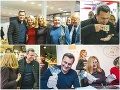 SNSáci si užívali v Agrokomplexe: FOTO Danko so zdobičkou v ruke a ... čo to víno, pán predseda?
