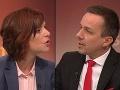 Ostrá televízna diskusia: Moderátor mal čo robiť, Remišová v prestrelke s Tomášom kvôli Kiskovi