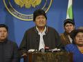 Obrovské napätie v Bolívii: Prezident oznámil rezignáciu a bol na neho vydaný zatykač