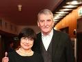 Martin Huba s manželkou Dagmar