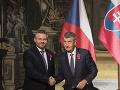 Slovensko aj Česko trápia podobné problémy, zhodli sa Pellegrini a Babiš