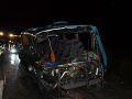 V Georgii sa zrazili dva školské autobusy: Zranenia utrpelo 22 detí
