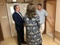Andrea Kalavská vo Fakultnej nemocnici s poliklinikou v Nových Zámkoch, neplnoletý pacient je stále v ohrození života