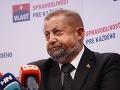 Politológ Ján Ruman má jasno: Harabin hrá na to, že sa naisto dostane do parlamentu