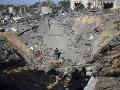 Prímerie len naoko: Chvíľu po dohode vypálili z pásma Gazy na Izrael rakety, okamžitá odveta