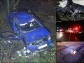 Tragická noc na východe: Dve smrteľné nehody! FOTO Zahynul chodec i šofér