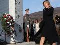 FOTO Prezidentka si na Devíne uctila obete komunistického režimu: Strážme si slobodu!