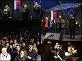 VIDEO Za slušné Slovensko opäť v uliciach: Stále sme svedkami toho, aký prehnitý je systém