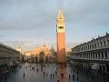 Voda v Benátkach má