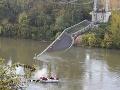 AKTUÁLNE Vo Francúzsku sa zrútil most: FOTO Hlásia mŕtveho, zranených a nezvestných