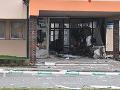 Páchatelia sa zamerali na bankomat