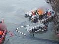 MIMORIADNE Do Oravskej priehrady spadlo z mosta auto, vodič zahynul