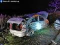 Pri zrážke dvoch áut v Košiciach sa dvaja ľudia zranili, jeden ťažko