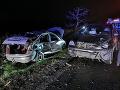 FOTO, z ktorých mrazí: Zrážka dvoch áut v Košiciach, vodič jedného z nich zraneniam podľahol