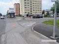 Pomôžte polícii objasniť nehodu v Liptovskom Mikuláši: FOTO Cyklista pri nej utrpel zranenia
