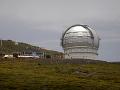 Terajší teleskop na Kanárskych