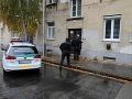 Dramatické chvíle v Nitre, zasahovala polícia: Krik, volanie o pomoc a bolestné stony