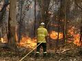 Sydney zahaľuje mrak hustého dymu z lesných požiarov