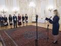 FOTO Prezidentka vymenovala nových sudcov: Musia prispieť k zvýšeniu dôveryhodnosti justície