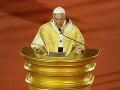 FOTO Pápež odsúdil na omši zneužívanie žien a detí na sex: Je to zlo, ktoré musí byť vykorenené