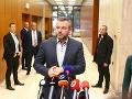 Mimoriadne rokovanie Bezpečnostnej rady: VIDEO Pellegrini si predvolal šéfa vojenských tajných