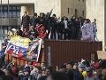 Aj napriek zákazu, ľudia vyšli do ulíc: V kolumbijskej Bogote protestovali stovky nespokojných