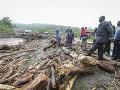 Počet obetí záplav na západe Kene stúpol na 60: Ďalších sedem ľudí je stále nezvestných