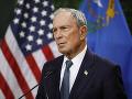 Uchádzač o kandidatúru na prezidenta Bloomberg: Miniem aj všetky peniaze na zbavenie sa Trumpa
