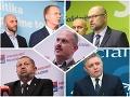 Prieskum! Kam odišli bývalí voliči SaS, OĽaNO a Smeru? Harabin a Drucker najviac ukradli týmto