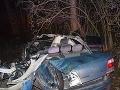 Tragická nehoda pri Nových Zámkoch: FOTO auta smrti, prípad je opradený záhadou