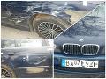 Streľba pri Nitre! BMW s bratislavskými značkami skončilo po prenasledovaní pri rieke, jeho vodič polícii uniká